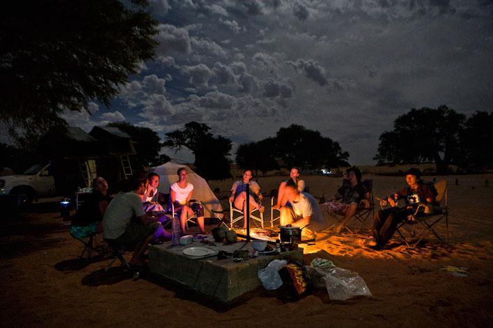나미비아-캠핑